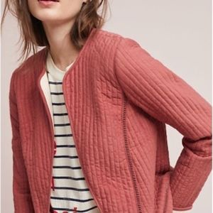 ANTHROPOLOGIE / AKEMI + KIM QUILTED JACKET